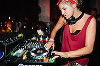 Sneaky Sound System with GG Magree at Hu'u Bar, Bali, Indonesia, 30/8/2013.