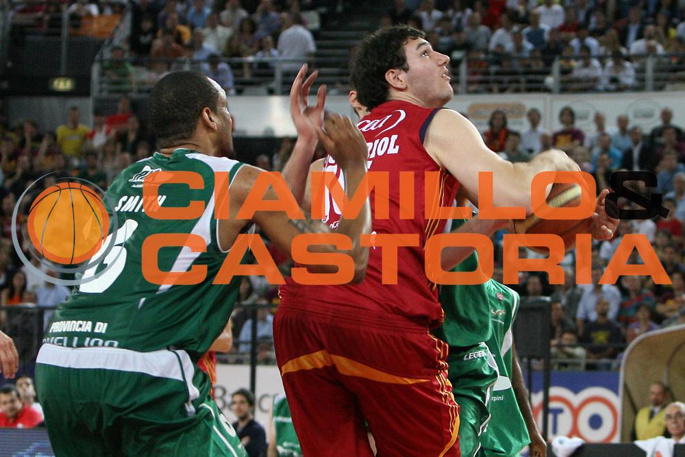 DESCRIZIONE : Roma Lega A1 2007-08 Playoff Semifinale Gara 3 Lottomatica Virtus Roma Air Avellino<br /> GIOCATORE : Andrea Crosariol<br /> SQUADRA : Lottomatica Virtus Roma<br /> EVENTO : Campionato Lega A1 2007-2008 <br /> GARA : Lottomatica Virtus Roma Air Avellino<br /> DATA : 27/05/2008 <br /> CATEGORIA : <br /> SPORT : Pallacanestro <br /> AUTORE : Agenzia Ciamillo-Castoria/E.Castoria