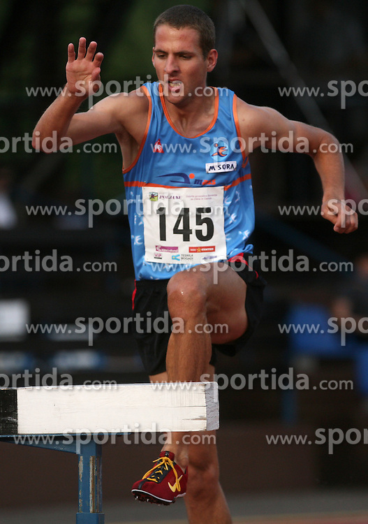 Cene Subic at Athletic National Championship of Slovenia, on July 20, 2008, in Stadium Poljane, Maribor, Slovenia. (Photo by Vid Ponikvar / Sportal Images).