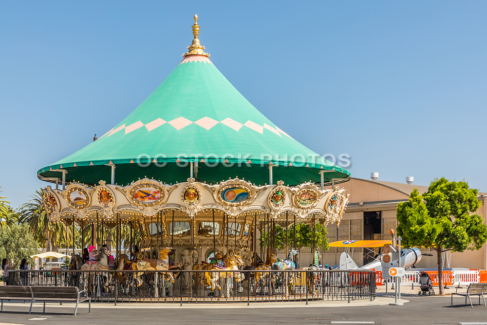 Children's Carousel at the Orange County Great Park