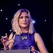 Westminster, UK. 20th Apr, 2017. Speaker Gemma Newton is the CEO of the National UK Blog Awards at The annually National UK Blog Awards at Park Plaza Westminster Bridge, London. by See Li