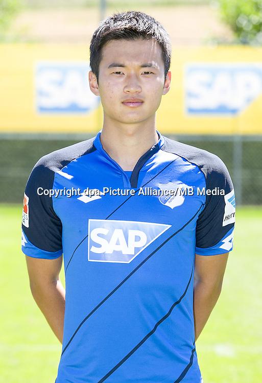 German Bundesliga - Season 2016/17 - Photocall 1899 Hoffenheim on 19 July 2016 in Zuzenhausen, Germany: Jin-Su Kim. Photo: APF  | usage worldwide