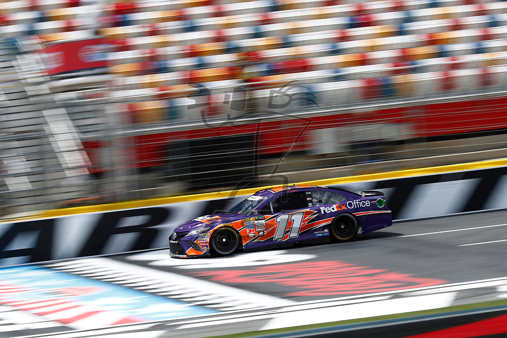 May 25, 2017 - Concord, NC, USA: Denny Hamlin (11) takes to the track to practice for the Coca Cola 600 at Charlotte Motor Speedway in Concord, NC.