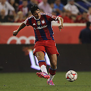 Claudio Pizarro, FC Bayern Munich, in action during the FC Bayern Munich vs Chivas Guadalajara, friendly football match at Red Bull Arena, New Jersey, USA. 31st July 2014. Photo Tim Clayton