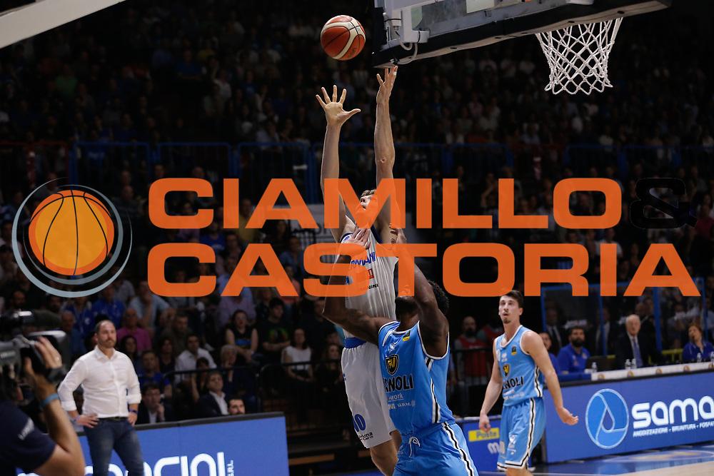 Ortner<br /> Vanoli Cremona - Germani Basket Brescia<br /> Legabasket Serie A 2017/18<br /> Cremona, 27/04/2018<br /> Foto MarcoBrondi / Ciamillo-Castoria