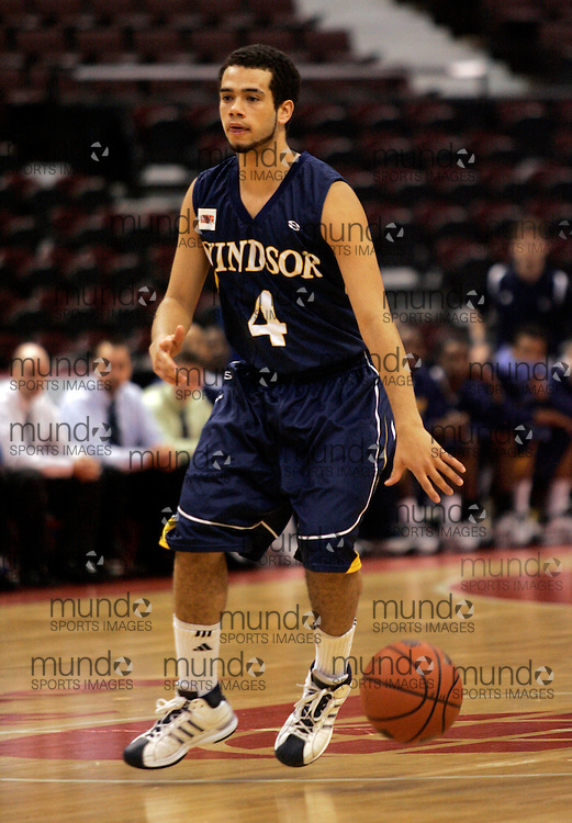 CIS Basketball Champioships-Ottawa, March 20, 2010, Windsor Lancers-Josh Collins