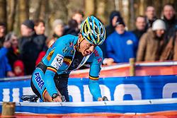 Tom MEEUSEN (5,BEL) 2nd lap at Men UCI CX World Championships - Hoogerheide, The Netherlands - 2nd February 2014 - Photo by Pim Nijland / Peloton Photos