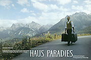 "TEARSHEET: ""Hotel Haus Paradies"" by Heimo Aga for Travel & Leisure."