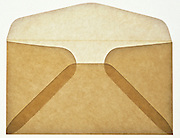 Translucent tan envelope