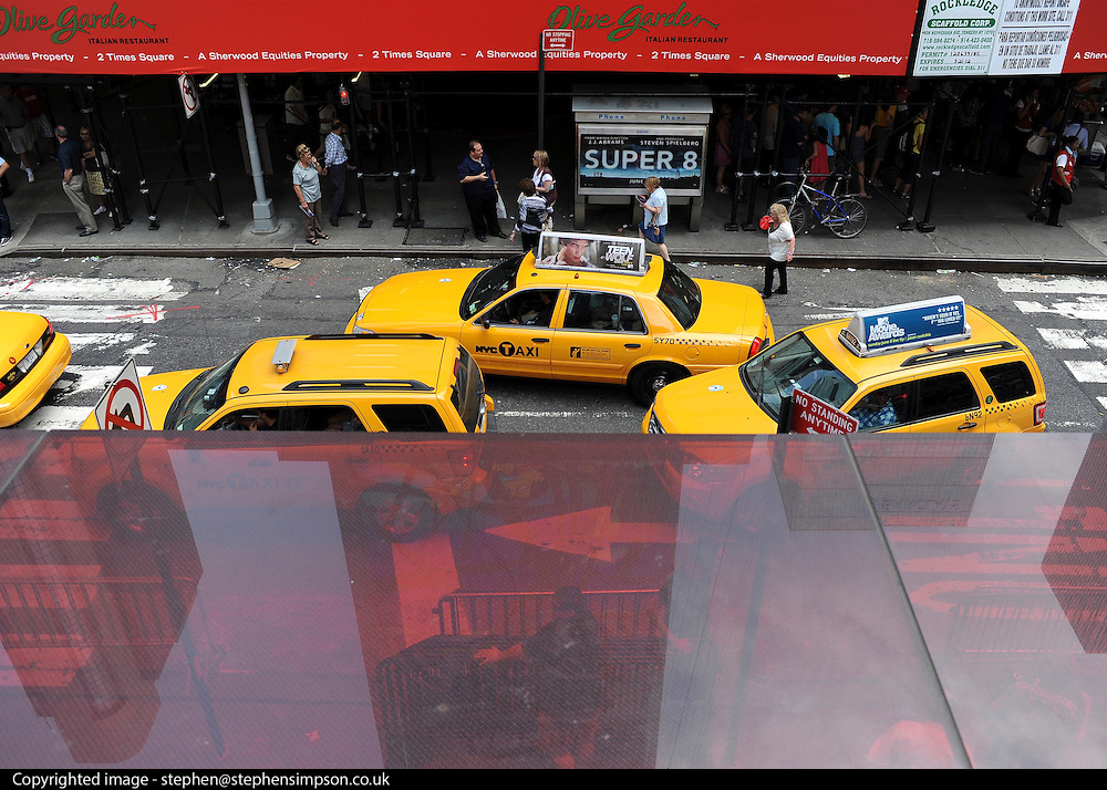 © licensed to London News Pictures. New York, USA  29/05/11. Times Square. Photo credit should read Stephen Simpson/LNP
