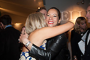 REBECCA ROGOFF; VANESSA KNOX, Charity Gala Reception in aid of the Neuroblastoma Society, Bada Antiques and Fine art Fair. Duke of York Sq.  Sloane Sq. London. 19 March 2014.