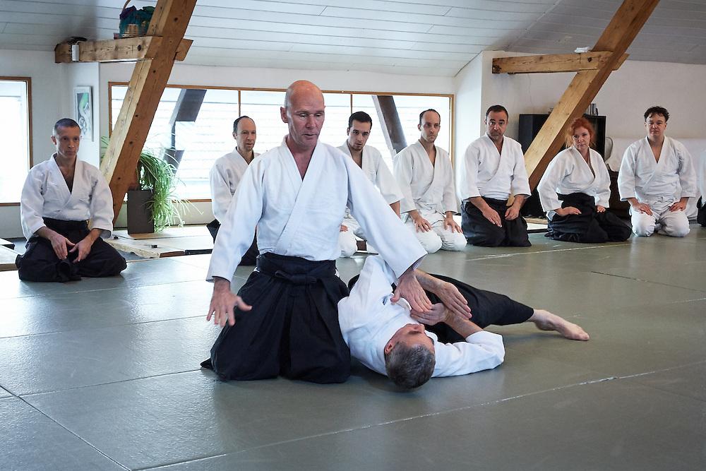 Aikido Centre Kumano Biel. Kagame Bitaki 2015.