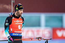 March 10, 2019 - –Stersund, Sweden - 190310  Martin Fourcade of France looks dejected during the Men's 12,5 km Pursuit during the IBU World Championships Biathlon on March 10, 2019 in Östersund. 10, 2019 in Östersund..Photo: Johan Axelsson / BILDBYRÃ…N / Cop 245 (Credit Image: © Johan Axelsson/Bildbyran via ZUMA Press)