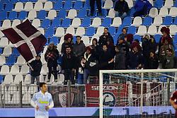 """Foto LaPresse/Filippo Rubin<br /> 28/11/2017 Ferrara (Italia)<br /> Sport Calcio<br /> Spal - Cittadella - Coppa Italia 2017/2018 - Stadio """"Paolo Mazza""""<br /> Nella foto: I TIFOSI DEL CITTADELLA<br /> <br /> Photo LaPresse/Filippo Rubin<br /> November 28, 2017 Ferrara (Italy)<br /> Sport Soccer<br /> Spal - Cittadella - Italy's Cup 2017/2018 - """"Paolo Mazza"""" Stadium <br /> In the pic: CITTADELLA SUPPORTERS"""