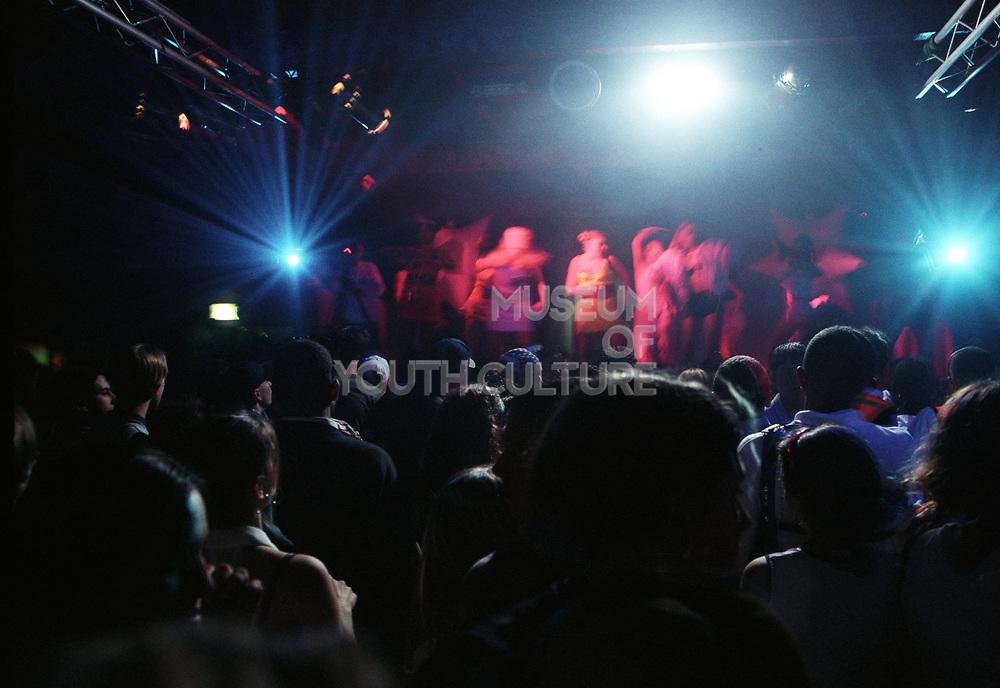 Dancing crowd, Dream FM. Bagleys, 15th March 1996.