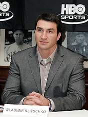 February 8, 2006 -  Chris Byrd vs Wladimir Klitschko II Presser - Gallagher's Steak House - NY, NY