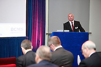 .Institute of Directors Annual Convention 2010.BCMS Seminar in the Elgar Room.Malcolm Murray speaking at the event.