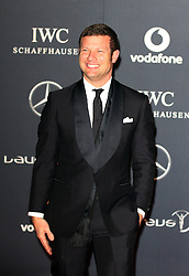 DERMOT OLEARY. arrives at the Laureus Sport Awards held at the Queen Elizabeth II Centre, London, Monday February 6, 2012. Photo By i-Images