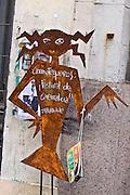 SHOTS OF GRAFFITI AROUND MONTEVIDEO, URUGUAY