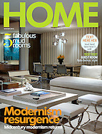 Home magazine Cover featuring Mid Century Modern home in Coachella Valley