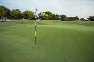 3rd green at The Address Montgomerie Golf Club, Dubai, United Arab Emirates.  27/01/2016. Picture: Golffile | David Lloyd<br /> <br /> All photos usage must carry mandatory copyright credit (© Golffile | David Lloyd)