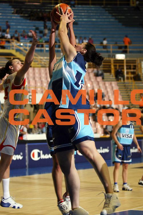 DESCRIZIONE : San Paolo Sao Paolo Brasile Brazil World Championship for Women 2006 Campionati Mondiali Donne Argentina-Spain<br /> GIOCATORE : Vega<br /> SQUADRA : Argentina Spain Spagna<br /> EVENTO : San Paolo Sao Paolo Brasile Brazil World Championship for Women 2006 Campionati Mondiali Donne Argentina-Spain<br /> GARA : Argentina Spagna Argentina Spain<br /> DATA : 13/09/2006 <br /> CATEGORIA : <br /> SPORT : Pallacanestro <br /> AUTORE : Agenzia Ciamillo-Castoria/E.Castoria <br /> Galleria : world championship for women 2006<br /> Fotonotizia : San Paolo Sao Paolo Brasile Brazil World Championship for Women 2006 Campionati Mondiali Donne Argentina-Spain<br /> Predefinita :