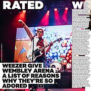 Weezer, Upset Magazine, December 2017/January 2018