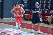 Ariel Filloy, Ettore Messina<br /> Nazionale Italiana Maschile Senior<br /> Eurobasket 2017<br /> Allenamento<br /> FIP 2017<br /> Telaviv, 30/08/2017<br /> Foto Ciamillo - Castoria/ M.Longo