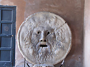 Italy, Rome, Mouth of Truth Bocca della Verita