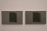 """Venezia - 57 Biennale di Arti Visive. Palazzo delle Esposizioni. John Latham. """"Dark Star""""."""