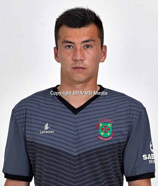 Portugal - Primera Liga NOS 2016-2017 /  <br /> ( FC Pacos de Ferreira ) - <br /> Yeerzati Yeerjieti