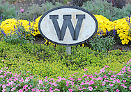 "TOWNBY18P<br /> A sign with a ""W"" marking the Wycombe Train Station is seen Thursday October 8, 2015 in Wrightstown Pennsylvania. Wrightstown is a Bucks County community that is not as much of a destination as the towns around it. (William Thomas Cain/For The Inquirer)"