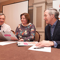 "Robert Stephen, Chair of Clare GROW, Mary Purcell, area coordinator of GROW, and John Lonegan,ex governor of Mountjoy prison, at the launch of ""Mind your Mental Health"" Course by Clare Branch of Grow, the World Community Health Movement in Ireland at Templegate Hotel on Monday night"