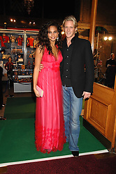 ALESHA DIXON and MATTHEW CUTLER at the gala night of Varekai by Cirque du Soleil at The Royal Albert Hall, London on 8th January 2008.<br />