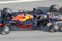 February 19, 2019 - Montmelo, BARCELONA, Spain - Pierre Gasly (Aston Martin Red Bull Racing) seen in action during the winter test days at the Circuit de Catalunya in Montmelo (Catalonia), Tuesday, February 19, 2019. (Credit Image: © AFP7 via ZUMA Wire)