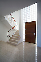 Cyprus entrance hall and staircase of contemporary house