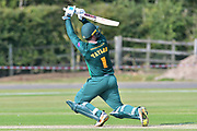 Brendan Taylor during the friendly match between Nottinghamshire County Cricket Club and Northamptonshire County Cricket Club at Grantham CC, Grantham, United Kingdom on 5 July 2017. Photo by Simon Trafford.