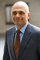 © Licensed to London News Pictures. 03/04/2016. London, UK. Business Secretary SAJID JAVID arriving at BBC Broadcasting House in London to appear on The Andrew Marr show on BBC One on Sunday, 3 April 2016. Photo credit: Tolga Akmen/LNP