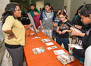 Texas College Night at Reagan High School, November 6, 2013.