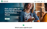 Corporate Gift Card Advertising