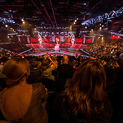 NLD/Hilversum/20141219- Finale The Voice of Holland 2014, opening van de show,