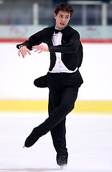 04.12.2015, Dom Sportova, Zagreb, CRO, ISU, Golden Spin of Zagreb, freies Programm, Herren, im Bild Maurizio Zandron, Italy. // during the 48th Golden Spin of Zagreb 2015 men Free Program of ISU at the Dom Sportova in Zagreb, Croatia on 2015/12/04. EXPA Pictures © 2015, PhotoCredit: EXPA/ Pixsell/ Igor Kralj<br /> <br /> *****ATTENTION - for AUT, SLO, SUI, SWE, ITA, FRA only*****