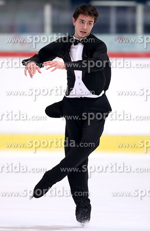 04.12.2015, Dom Sportova, Zagreb, CRO, ISU, Golden Spin of Zagreb, freies Programm, Herren, im Bild Maurizio Zandron, Italy. // during the 48th Golden Spin of Zagreb 2015 men Free Program of ISU at the Dom Sportova in Zagreb, Croatia on 2015/12/04. EXPA Pictures &copy; 2015, PhotoCredit: EXPA/ Pixsell/ Igor Kralj<br /> <br /> *****ATTENTION - for AUT, SLO, SUI, SWE, ITA, FRA only*****