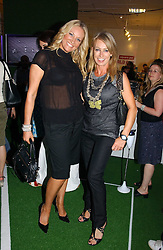 Left to right, SARAH BOSNICH and KAREN MILLEN at a party to launch Umbro Football Fever at Selfridges, Oxford Street, London on 8th June 2006.<br /><br />NON EXCLUSIVE - WORLD RIGHTS
