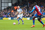 Leicester City midfielder Danny Drinkwater (4) during the Barclays Premier League match between Crystal Palace and Leicester City at Selhurst Park, London, England on 19 March 2016. Photo by Phil Duncan.