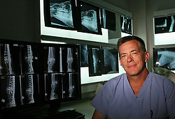 Barbaro's surgeon Dr. Dean Richardson poses for a portrait at the New Bolton Center Tuesday, April 24, 2007 in Kennett Square, PA. (Drew Hallowell/for ESPN.com)