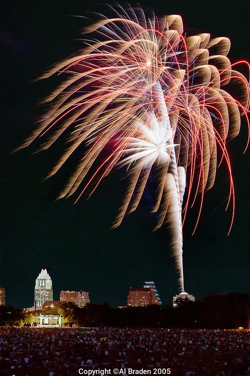 Austin Symphony's Fourth of July Fireworks, Austin, Texas