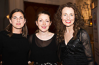 Midsummer Melodies, a concert of choral music with Marine Institute singers, SSE Airs which took  place in the Augustinian Church Galway . Proceeds to COPE Galway . at the event were Yvonne Bogan, Jenny Ronan, Mairead Brennan. Photo:Andrew Downes, xposure.