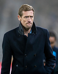 WOLVERHAMPTON, ENGLAND - Thursday, January 23, 2020: Former Liverpool player Peter Crouch during the FA Premier League match between Wolverhampton Wanderers FC and Liverpool FC at Molineux Stadium. (Pic by David Rawcliffe/Propaganda)