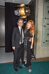 Charlotte Tilbury and George Waud at the Fabulous Fund Fair in aid of Natalia Vodianova's Naked Heart Foundation in association with Luisaviaroma held at The Round House, Camden, London England. 18 February 2019.